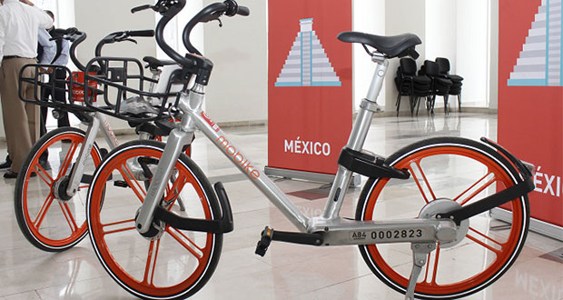 programa piloto de bicicletas públicas con la empresa Mobike