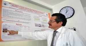 Investigadores de la BUAP desarrollan reductor de fibrosis pulmonar