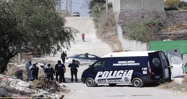 Encuentran cadáver encobijado en colonia Santa Lucia; van tres en cinco días