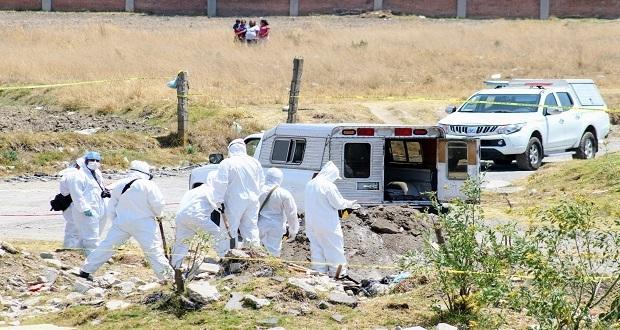 Un policía estatal, entre los ocho cuerpos encontrados en Chachapa