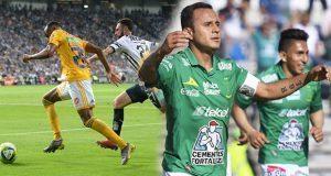 Tigres y Monterrey igualan; León nuevo superlíder