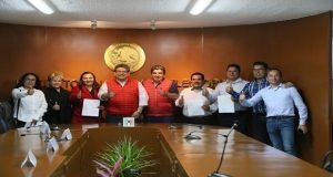 PRI registra a sus candidatos para cinco alcaldías de Puebla