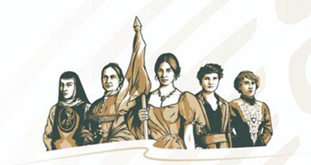 Carmen Serdán y 4 mujeres más llegan a imagen del gobierno federal