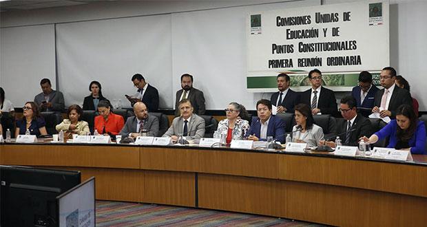 Pese a bloqueos, comisiones en San Lázaro avalan reforma educativa