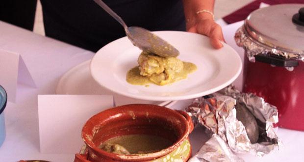 Promueven concurso gastronómico en la feria de Tecomatlán