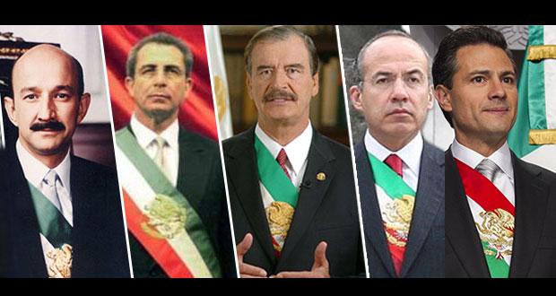 Una encuesta del diario nacional El Universal señaló que el 78.1 por ciento de los mexicanos está a favor de que los expresidentes sean enjuiciados.