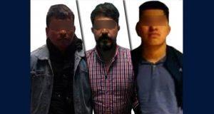 SSP detiene a tres hombres por portar armas sin permisos