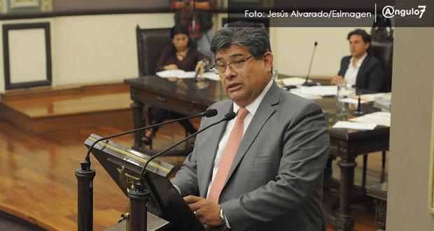 Casique, diputado más faltista del Congreso de Puebla de enero a marzo