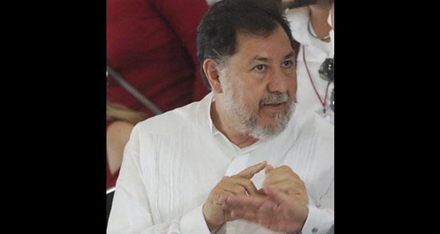 Armenta no debe ser expulsado de Morena, hay que integrarlo: Noroña