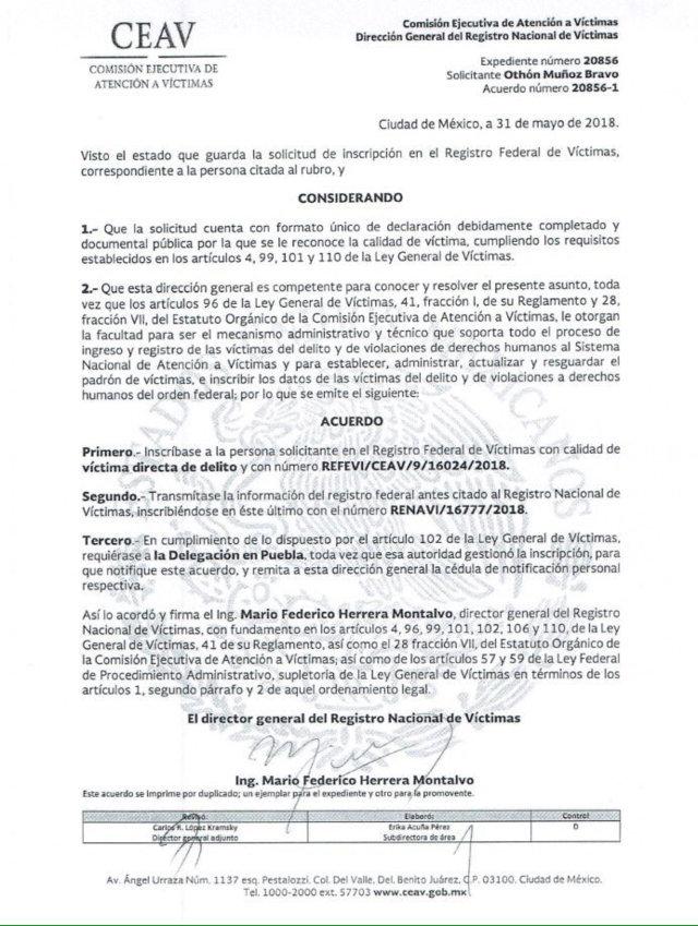 Othón Muñoz afirma que le sembraron pruebas para acusarlo de huachicolero