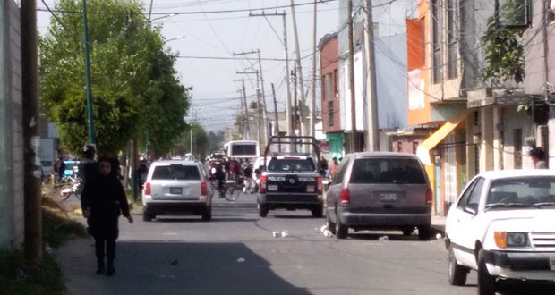 En San Martín Texmelucan, ejecutan a un hombre y otro resulta herido