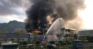 Explosión en planta química de China deja 6 muertos y 30 heridos
