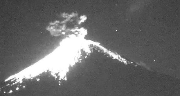 Actividad del Popocatépetl, normal en alerta amarillo fase 2: PC