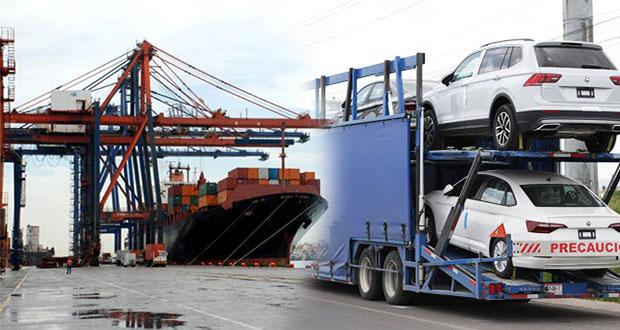 En 4T de 2018, Puebla aporta 0.2% al valor de exportación automotriz