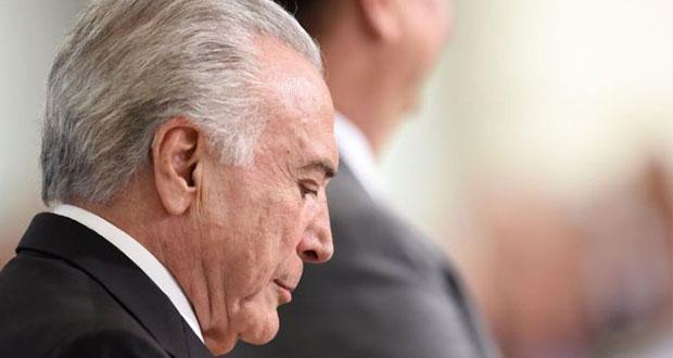 Arrestan a Temer, expresidente de Brasil, por pagos de sobornos