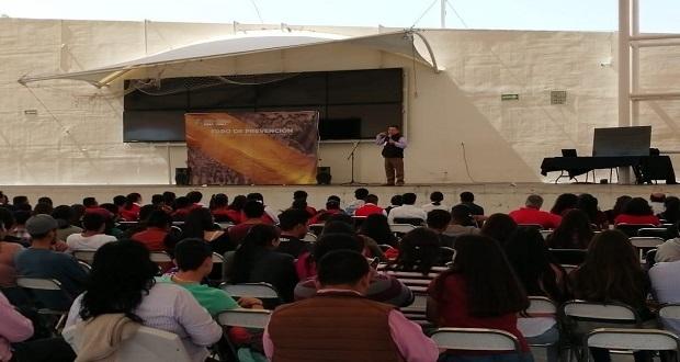 SNSP realiza foro en Tehuacán para prevenir actividades delictivas