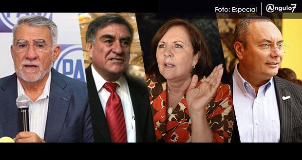 Fraile, Paredes, Aranda y 4 más buscan la candidatura del PAN en Puebla
