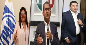 INE desecha medidas cautelaras contra Armenta, Jiménez y Huerta