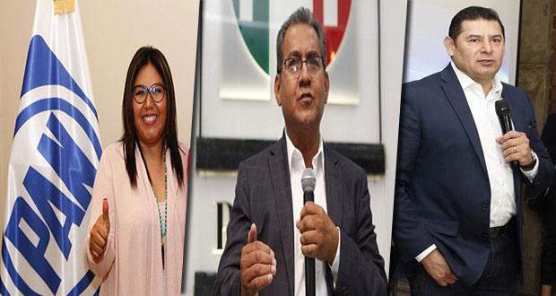 INE desecha medidas cautelaras contra Armenta, Jiménez y Genoveva