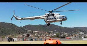 Protección Civil sigue combatiendo incendio forestal en Zautla: SGG