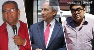 Jiménez, Cárdenas y Barbosa, los candidatos que buscarán la gubernatura