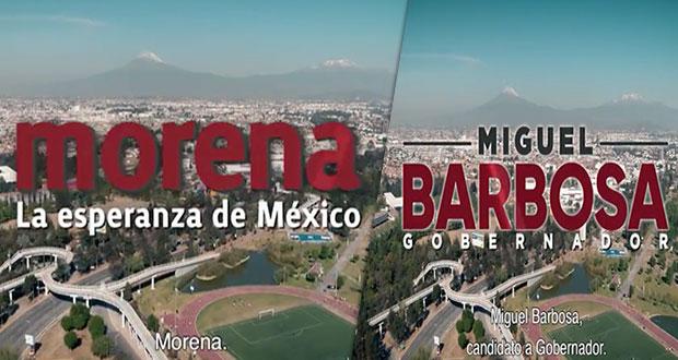 PAN denuncia spot de Barbosa; es presentado solo como candidato de Morena