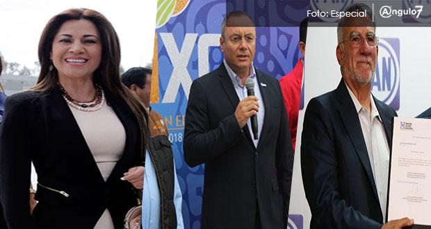 Guillermo Velázquez, Fraile y Blanca Jiménez, son los precandidatos del PAN