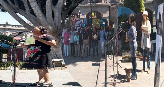 Premian a Rita Amador y María Luisa Núñez por defender DH en Puebla