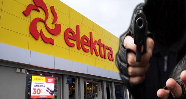En asalto, someten a personal y clientes de Elektra en Totimehuacán