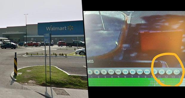Acusan robos de coches y autopartes en Walmart de calzada Zaragoza