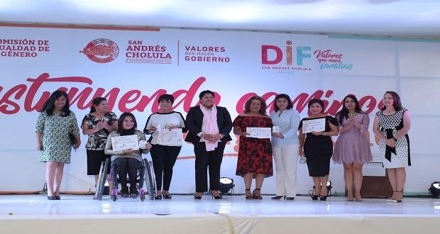 """En San Andrés Cholula implementan programa """"Caminos de Igualdad"""""""