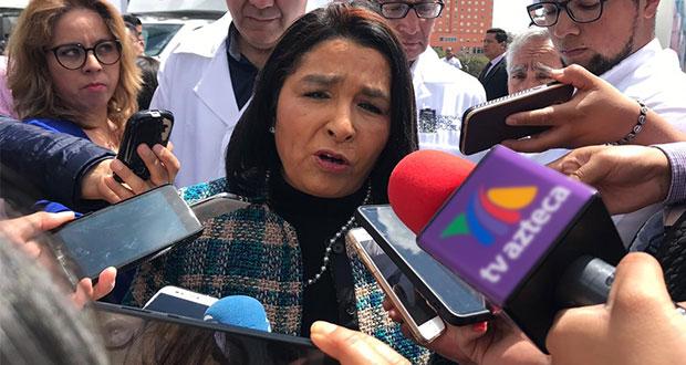 secretaria de Salud (SS) estatal, Lucía Ojeda Lara