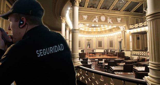 Congreso poblano gastaría 1.5 mdp para seguridad privada por 9 meses