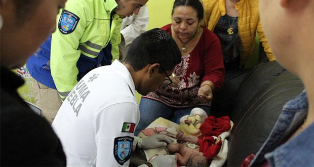 Abandonan a bebé recién nacido en iglesia de San Martín Texmelucan