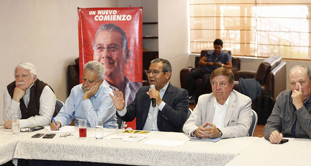 Propone Jiménez destinar mil 500 mdp anuales al campo poblano