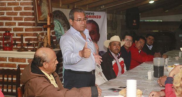 Mujeres serán prioridad en mi gobierno, asegura Jiménez Merino