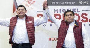 Armenta y Barbosa liman asperezas y prometen trabajar juntos en campaña
