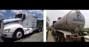 Alertan a 14 estados por robo de tanque con ácido fosfórico en San Martín