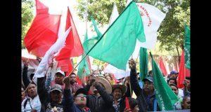Antorchistas de Puebla exigen a Segob cumplir con apoyos acordados