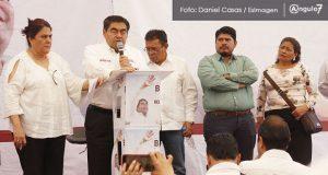 No más presos ni perseguidos políticos, señala Barbosa ante la 28 de Octubre