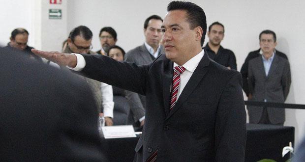César Huerta Méndez, toma protesta como nuevo secretario ejecutivo del IEE