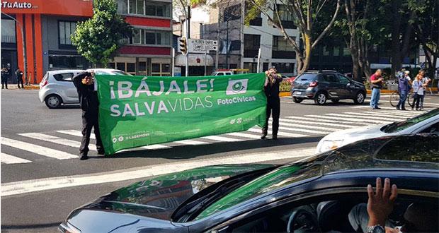 """CDMX estrena """"Fotocívicas"""" para imponer sanciones comunitarias"""