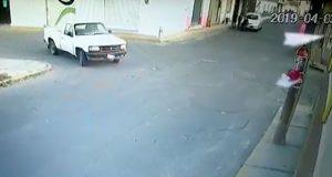 Conductor atropella a menor en Huejotzingo