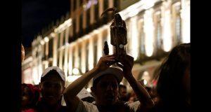 Devoción a la Santa Muerte está aumentando en Puebla, aseguran