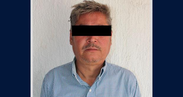 Detienen a hombre por violencia familiar en Puebla capital