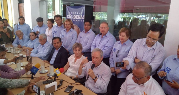 Cárdenas reta a contrincantes a explicar origen de sus patrimonios