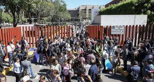 Finaliza mitin de miembros de la CNTE frente a Cámara de Diputados