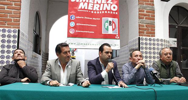 Gasto de 6.8 mdp es para 60 días de campaña de Jiménez Merino: PRI