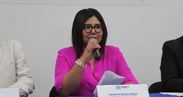 PAN en Puebla reclama activación de AVGM en tiempo electoral