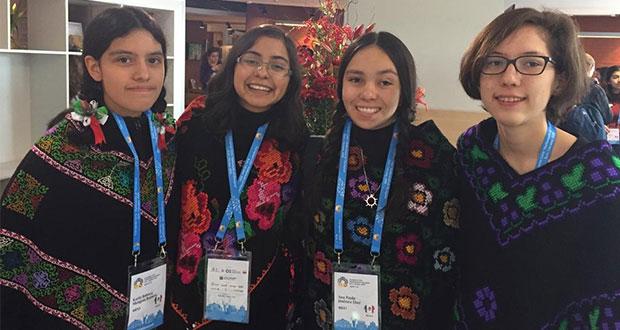 Grupo femenil mexicano de matemáticas con 1 oro y 2 platas en Ucrania